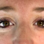Temporary Eyelash Extensions