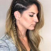 Stylist Makenzie - Braided Hair With Blond Highlights