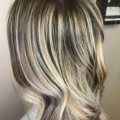 Natural Highlighted Hair Style